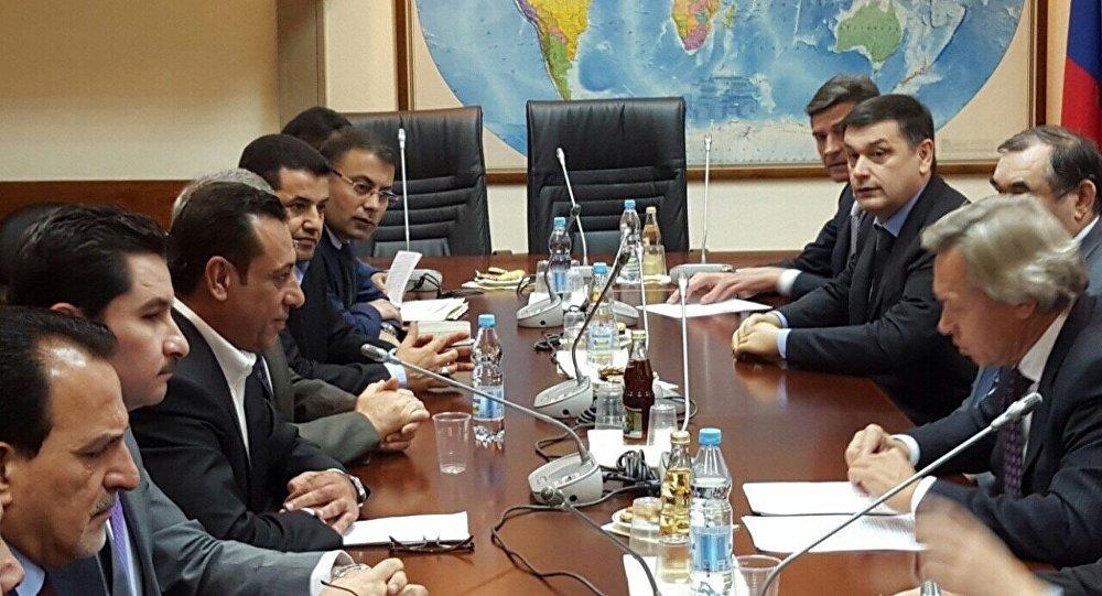 وفد برلماني عراقي في موسكو