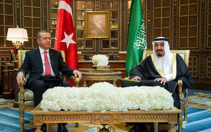 تفاصيل تنشر للمرة الأولى... أردوغان يكشف للملك سلمان هدف القاعدة التركية في قطر