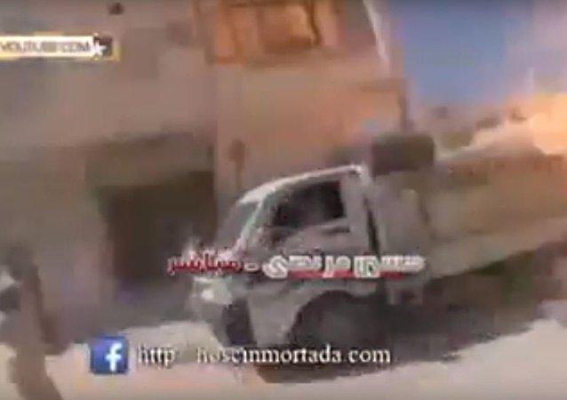 صاروخ سورى يرسل الإرهابيين للجحيم