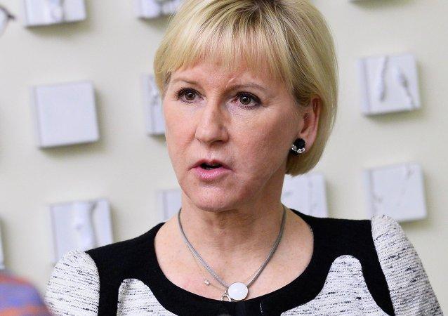 وزيرة خارجية السويد مارغوت والستروم