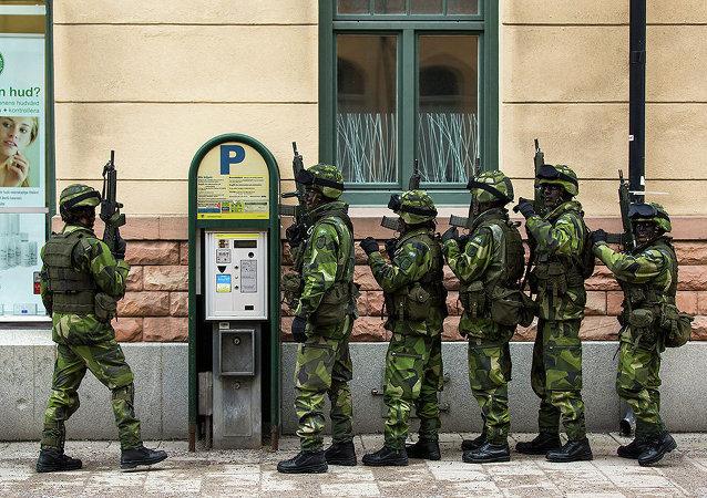 الجيش السويدي