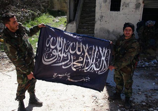 عناصر داعش في الرقة السورية