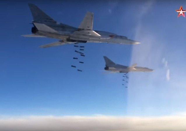 القاذفات الروسية فى سوريا
