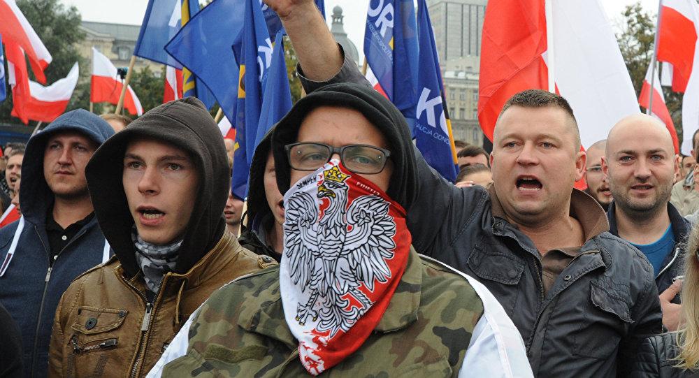 مظاهرات ضد اللاجئين