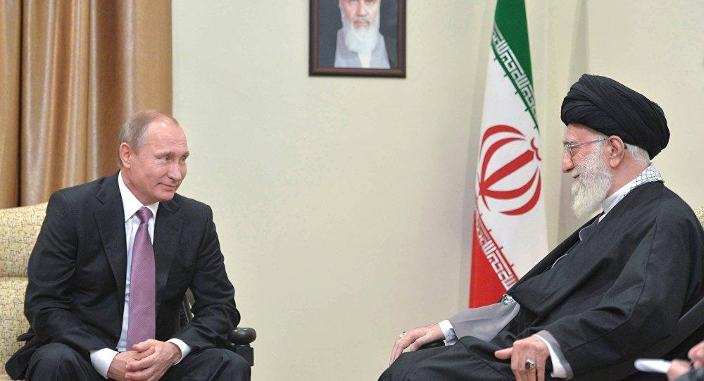 بوتين يلتقي الزعيم الإيراني