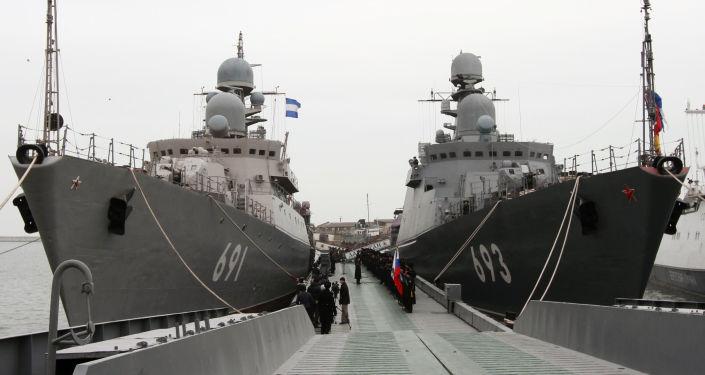 السفن الصاروخية تتارستان وداغستان