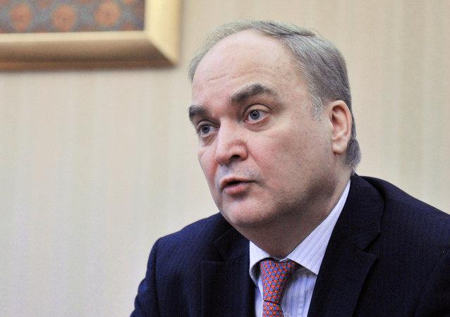 أناتولي أنطونوف  سفير روسيا في واشنطن