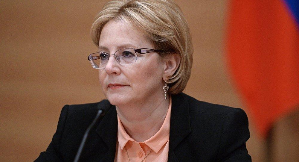 وزيرة الصحة الروسية فيرونيكا سكفورتسوفا