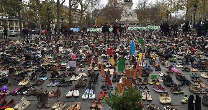 مظاهرات في باريس قبيل انعقاد القمة المناخية