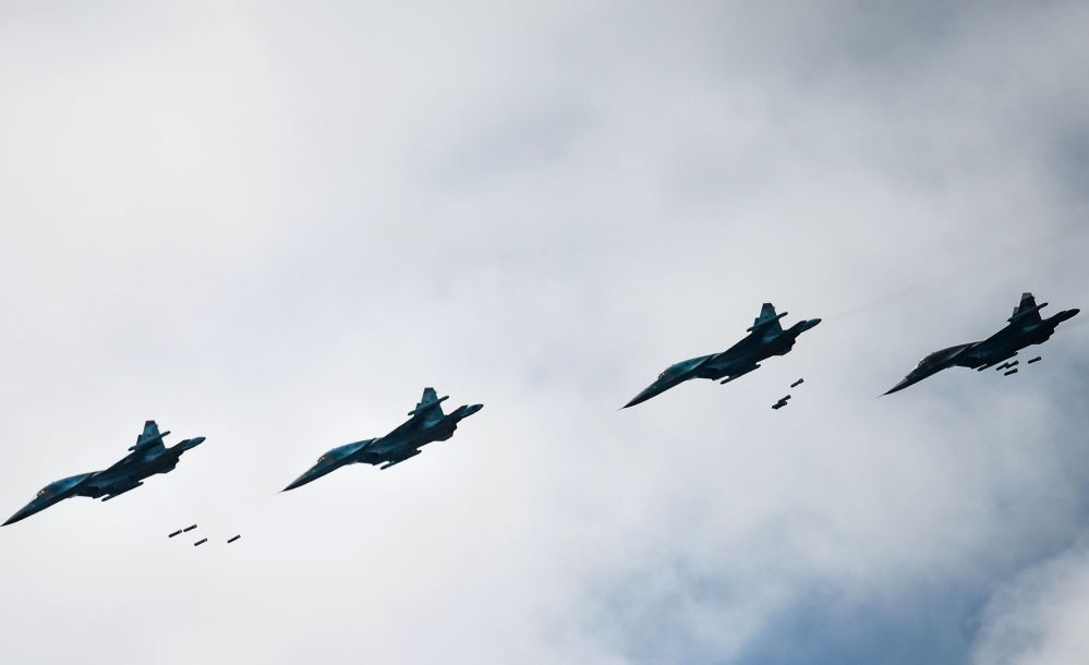 الطائرات الروسية سو-34 و سو-35