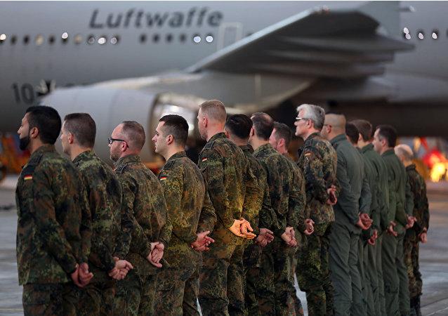 مشاركة ألمانيا في محاربة داعش