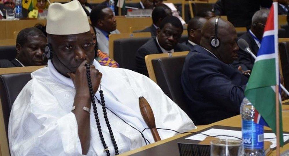 يحيى جامع رئيس جامبيا
