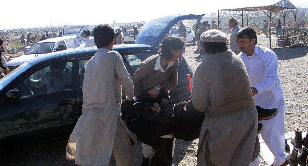 انفجار في سوق شعبي في باكستان