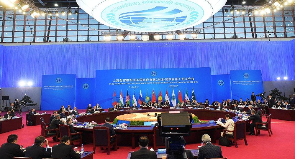 اجتماع رؤساء حكومات الدل الأعضاء في منظمة شنغهاي للتعاون