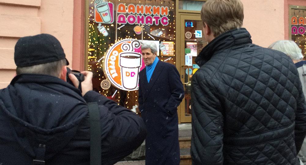 وزير الخارجية الأمريكي جون كيري في موسكو