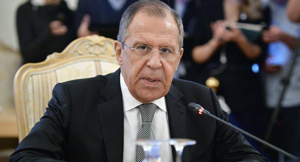 وزير الخارجية الروسي سيرغي لافروف