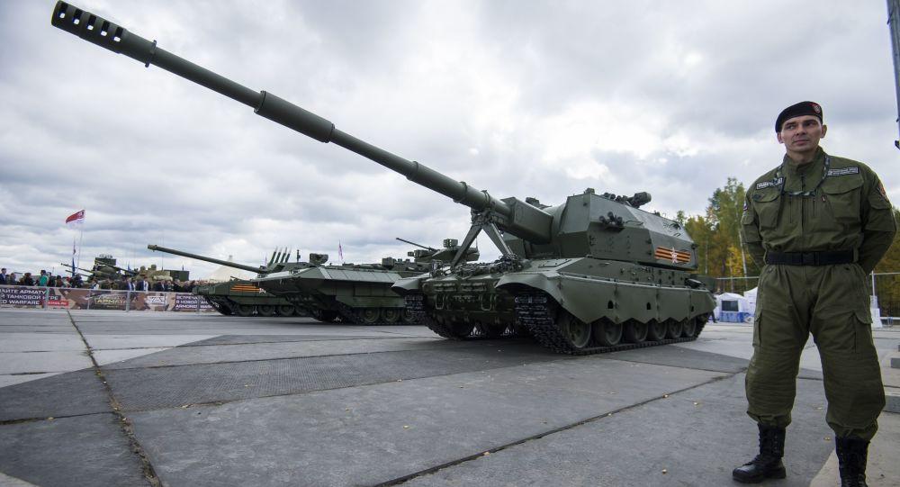 المدفع الروسي الجديد كواليتسيا
