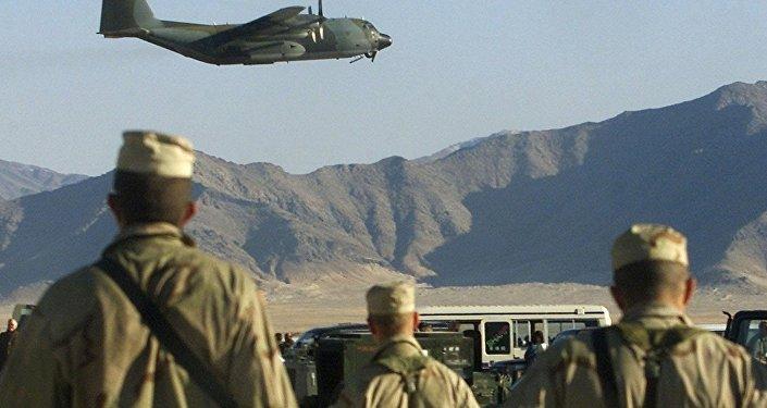 القوات الأمريكية في أفغانستان