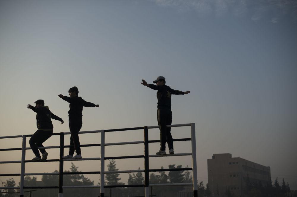 الأكاديمية العسكرية للفتيات فى دمشق