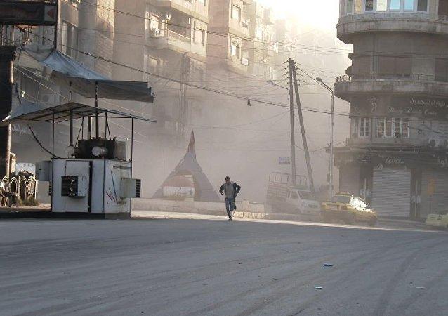 انفجار في حلب
