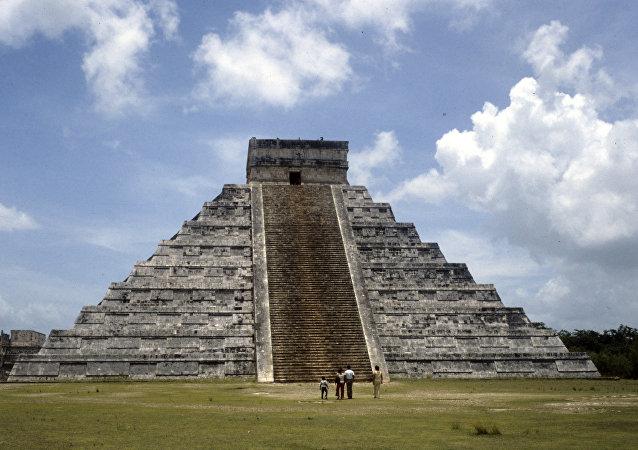 هرم كوكولكان في المكسيك