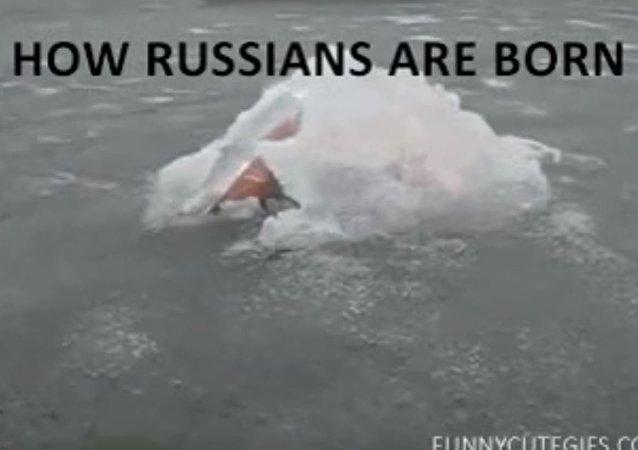 سر ولادة الروس العجيبة والقوة الخارقة