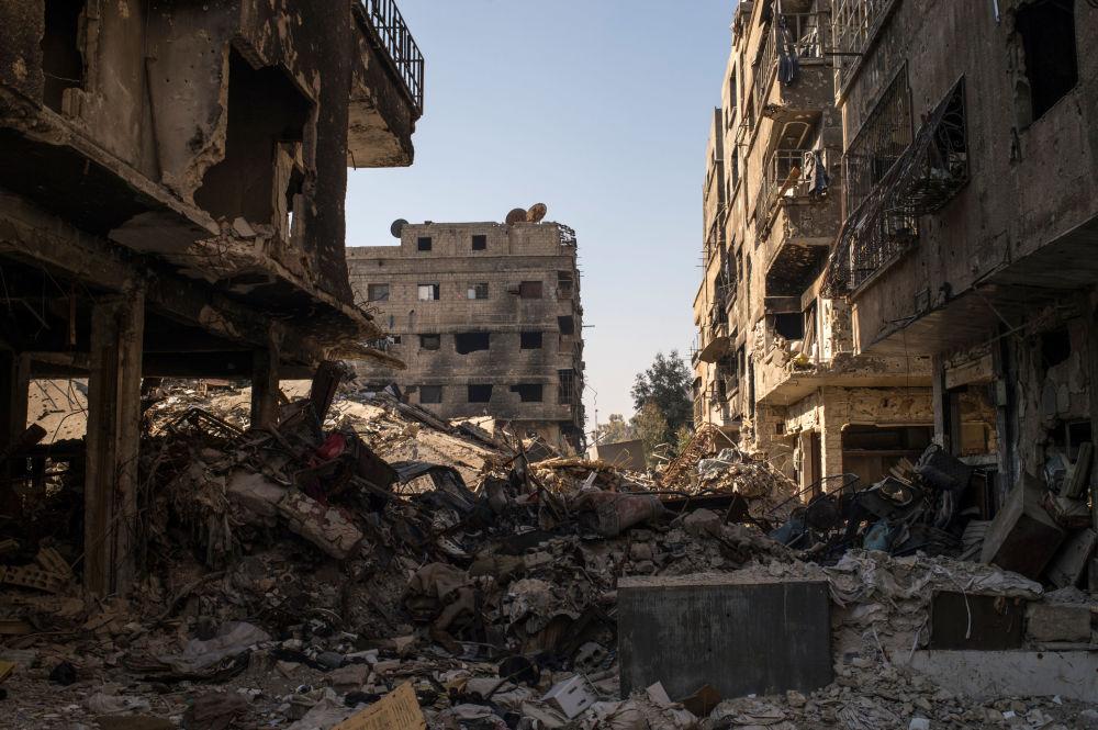 الحياة السورية وسط الدمار الشامل!