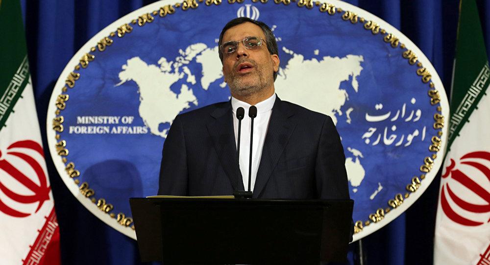 المتحدث بإسم الخارجية الإيرانية حسين جابر أنصاري