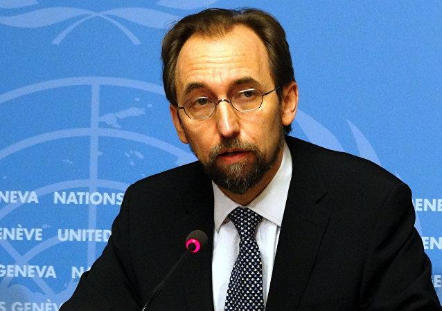 مفوض الأمم المتحدة السامي لحقوق الإنسان زيد رعد بن الحسين