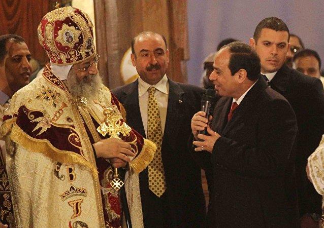 مصر تحتفل بعيد الميلاد المجيد
