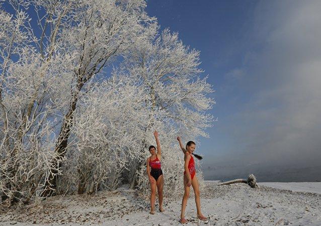 نادي السباحة في سيبيريا - أتقبلون التحدي؟!