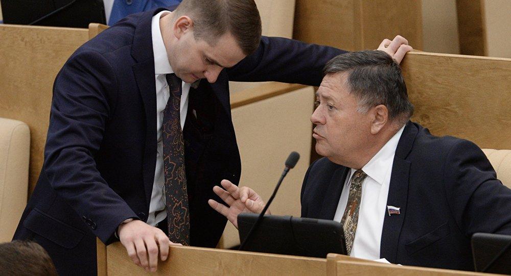 جلسة عامة لمجلس النواب الروسي