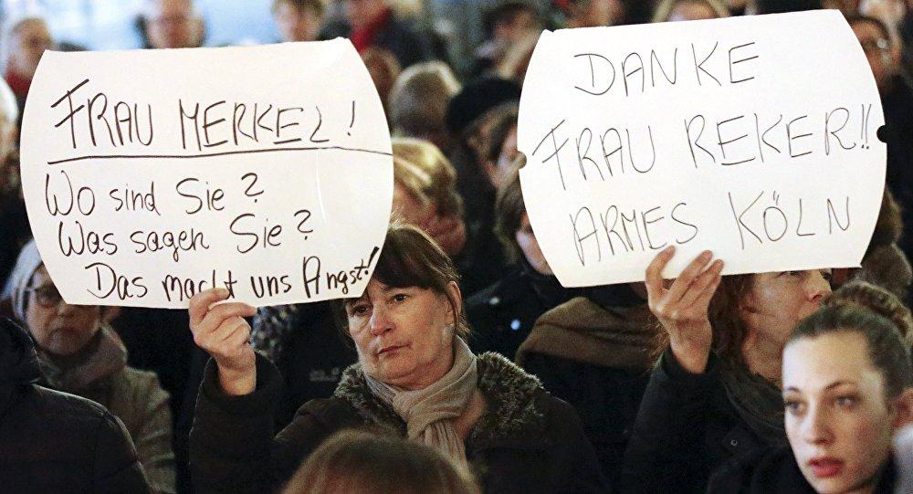 تظاهرة احتجاجية في كولونيا