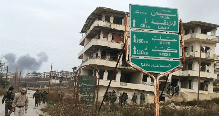 وحدات الجيش السوري تدخل سلمى