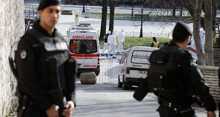 تفجير إرهابي في تركيا