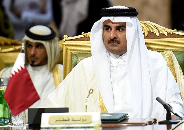 الشيخ تميم بن حمد آل ثاني أمير قطر