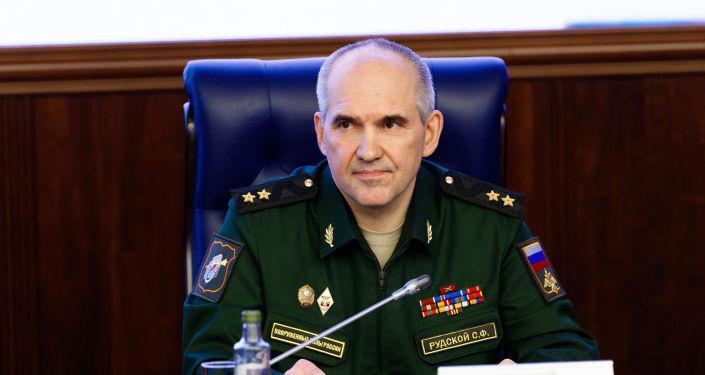 سيرغي رودسكوي، المسؤول في هيئة الأركان العامة للقوات المسلحة الروسية
