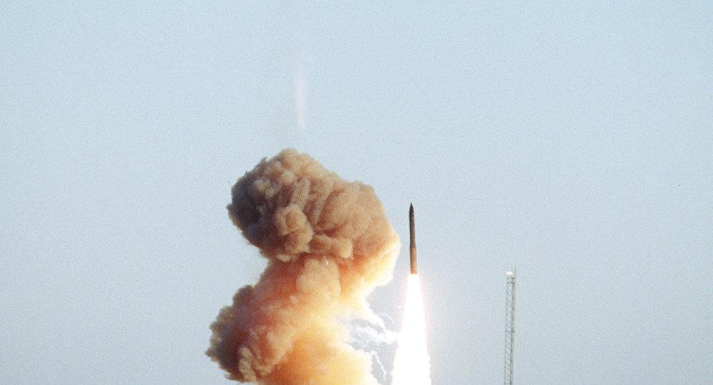 تجربة إطلاق صاروخ مينيتمان 3