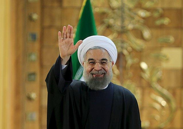 الرئيس الإيراني حسن الروحاني