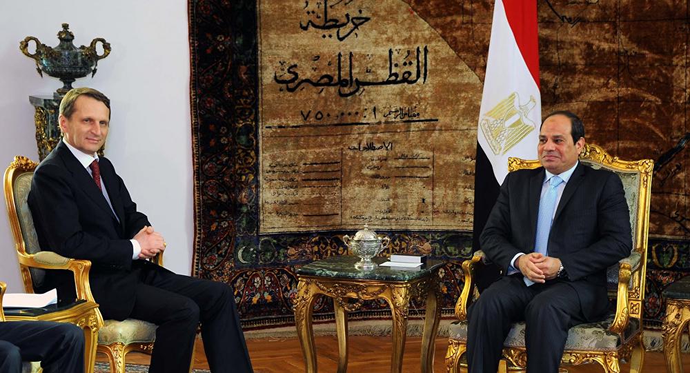 زيارة نارشكين إلى مصر