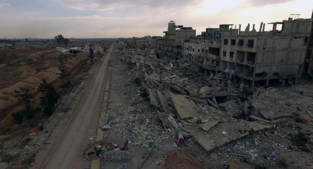 أثار الحرب في سوريا