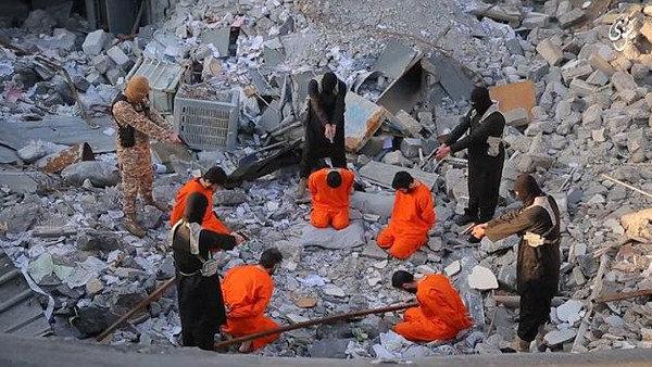 داعش يعدم 5 عراقيين في نينوى