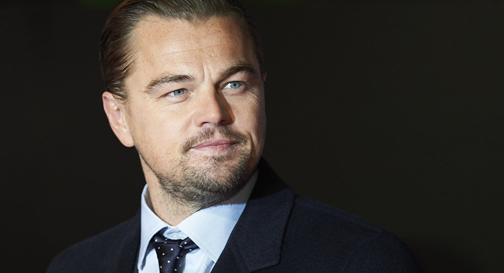 US actor Leonardo DiCaprio