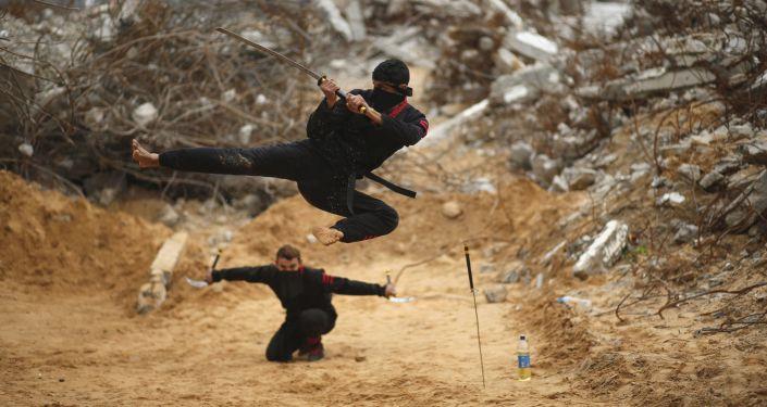 النينجا الفلسطينيون