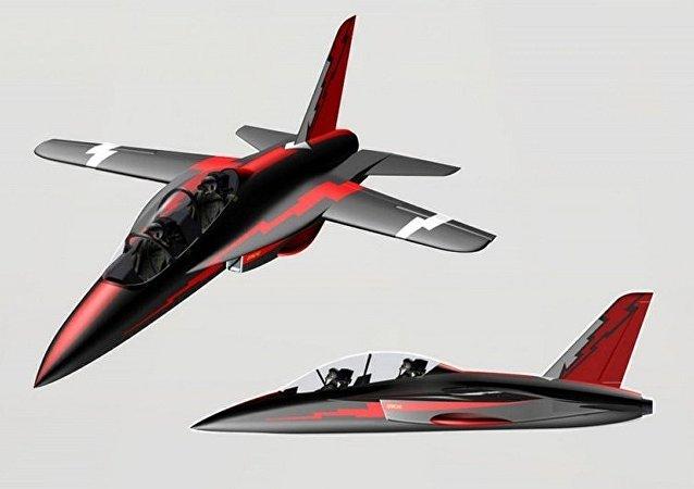 طائرة التدريب الروسية الجديدة سي أر 10
