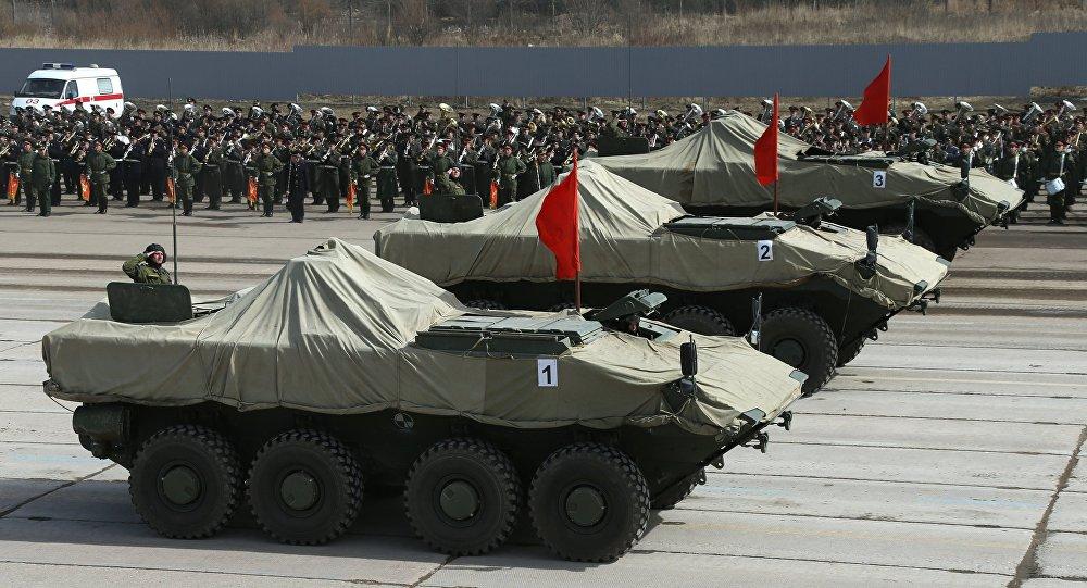 عربة بوميرانغ المدرعة الروسية الحديثة