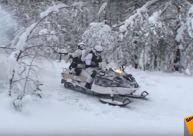 الجيش الروسى فى القطب الشمالى