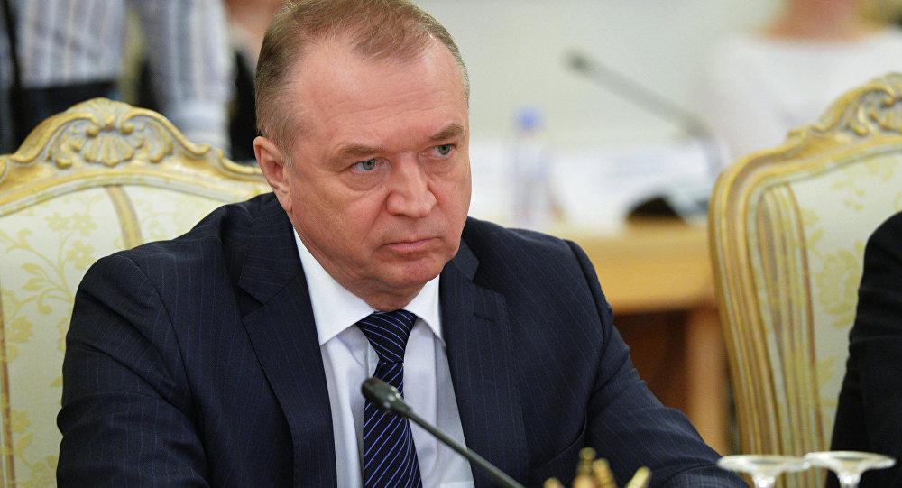 رئيس غرفة التجارة والصناعة الروسية سيرغي كاتيرين