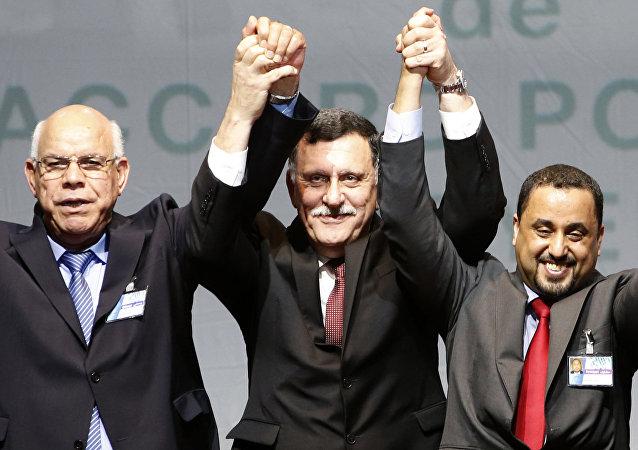 فايز السراج رئيس حكومة الوفاق الليبية