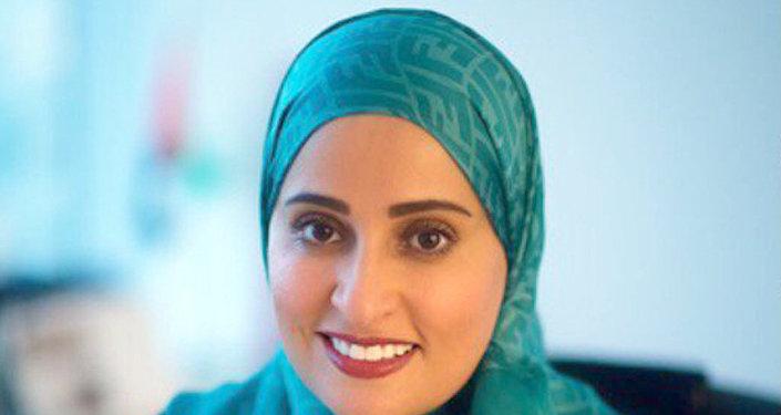 وزيرة السعادة الإماراتية عهود الرومي